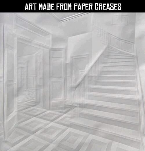 I can't even fold paper in half. Dafuq? - meme