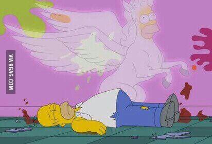 Homer's real natural self... - meme
