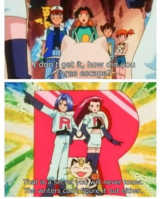 I always loved team rocket - meme