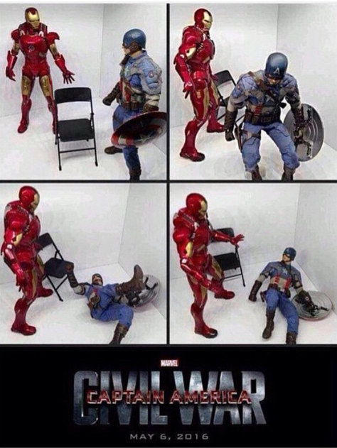 How excited are you guys for civil war? - meme
