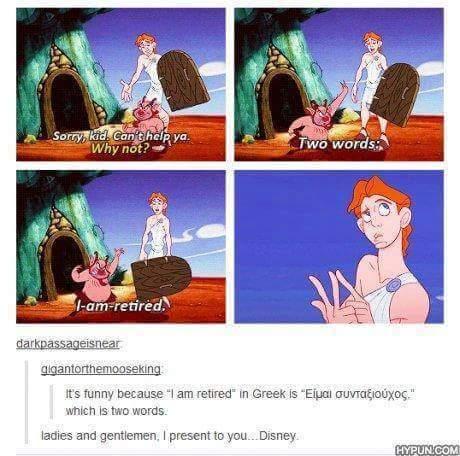 Disney works in Mysterious Ways - meme