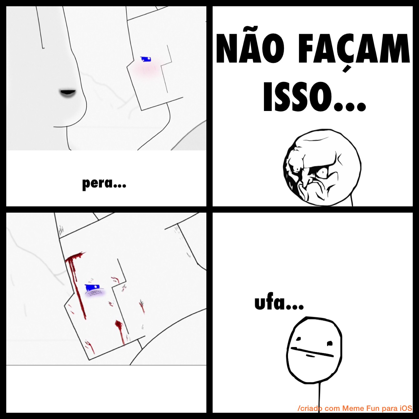 VACO É GAY MANO! - meme