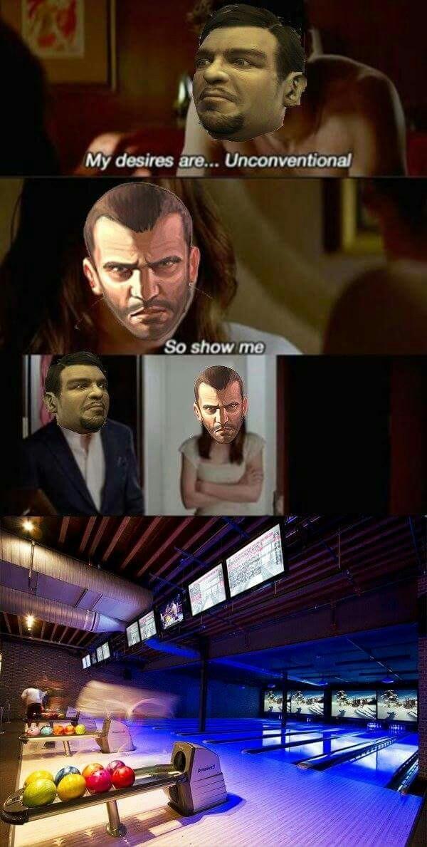 50 Shades of Bowling - meme