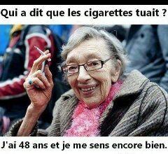 fumer ne tue pas - meme