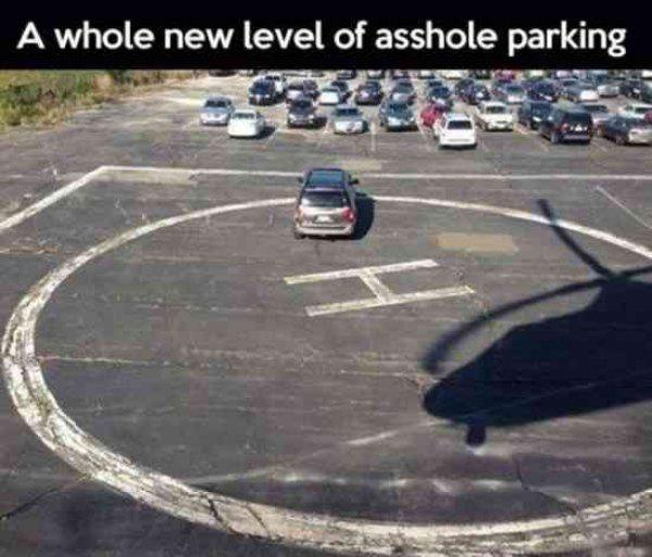 I hate when people park on my landing pad. - meme