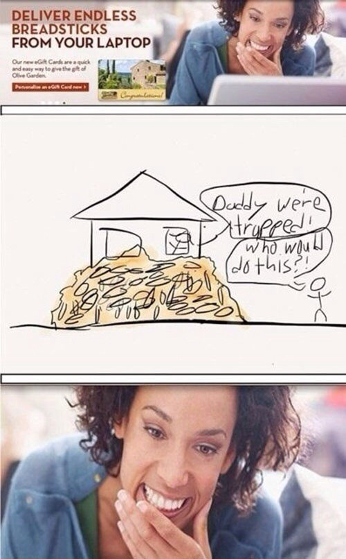 Olive Garden why - meme