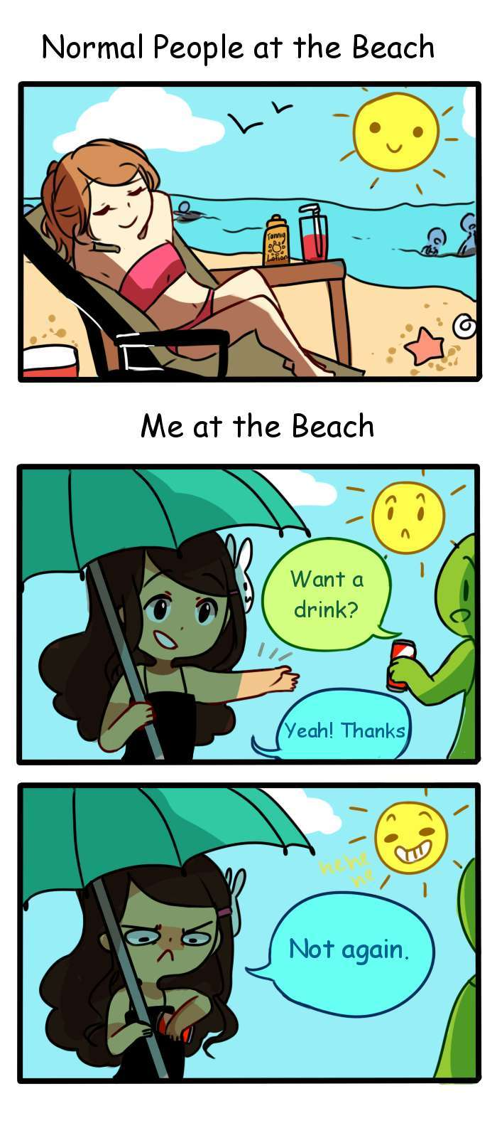 I like tan - meme