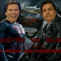 Faustão vs silvio >>> Batman vs Superman