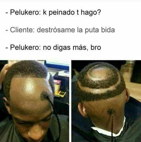 Peluquería 2.0 - meme