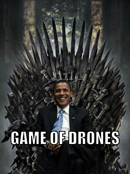 Quoi de mieux qu'un drone, pour nettoyer la zone? Paf, un petit deuxième... - meme