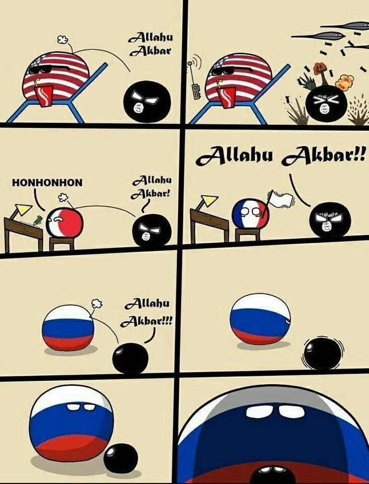 Rip le terrorisme - meme