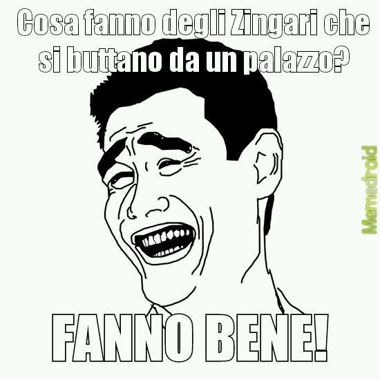 Zingari - meme