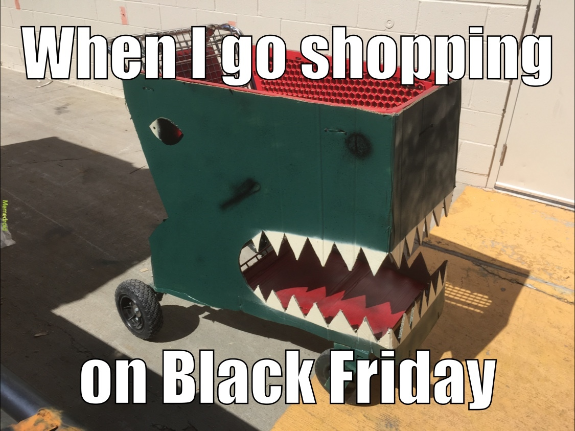Savage shopper - meme