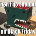 Savage shopper
