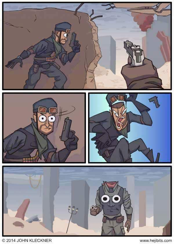 Every fps game.... - meme