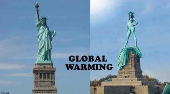Le rechauffement climatique - meme