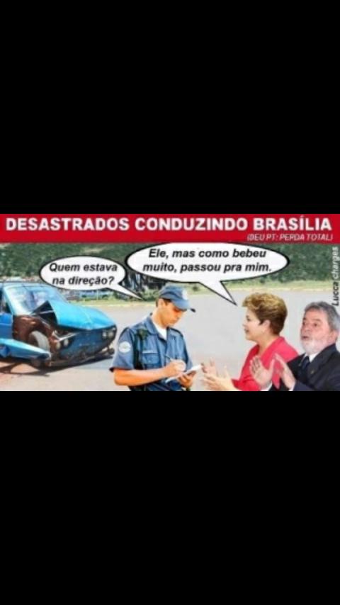 Dirigindo o Brasil - meme