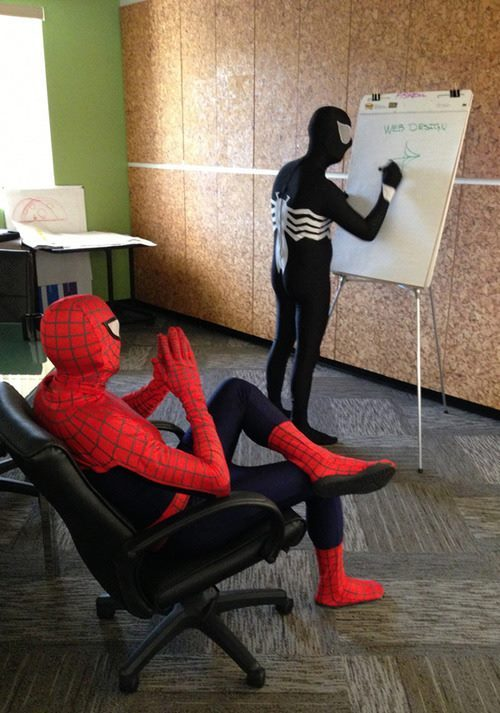 """Web Designers"" *Ba Dum Tss* - meme"