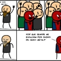 Coitado do Spoder Man =/