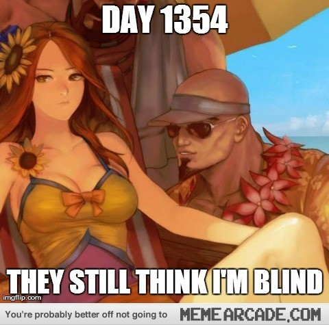 Don't look at the sun directly - meme