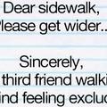 Sidewalk asshole