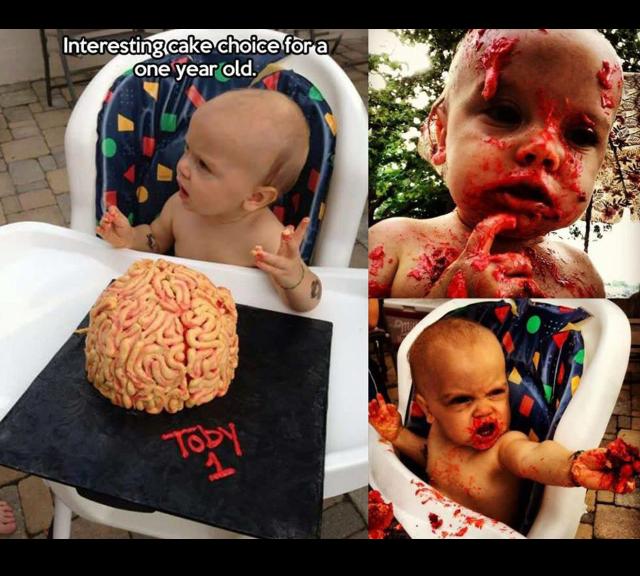 Zombie baby - meme