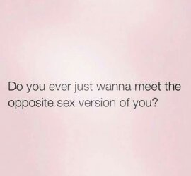 I want to. What about you? - meme