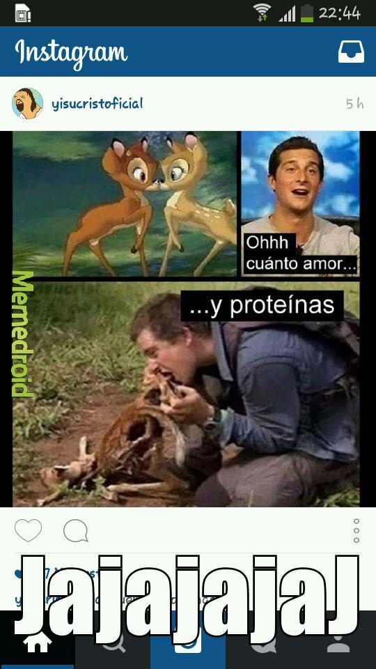 PROTEINAS!!!! - meme