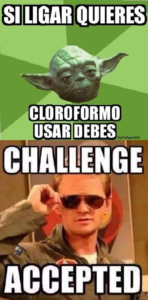 Reto Aceptado!! - meme