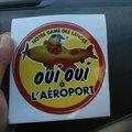 Oui à l'aéroport
