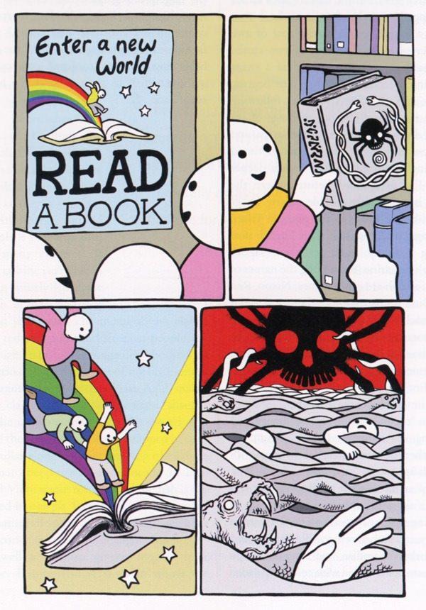Reading... - meme