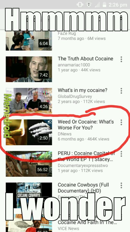 I was searching the eric clapton song - meme