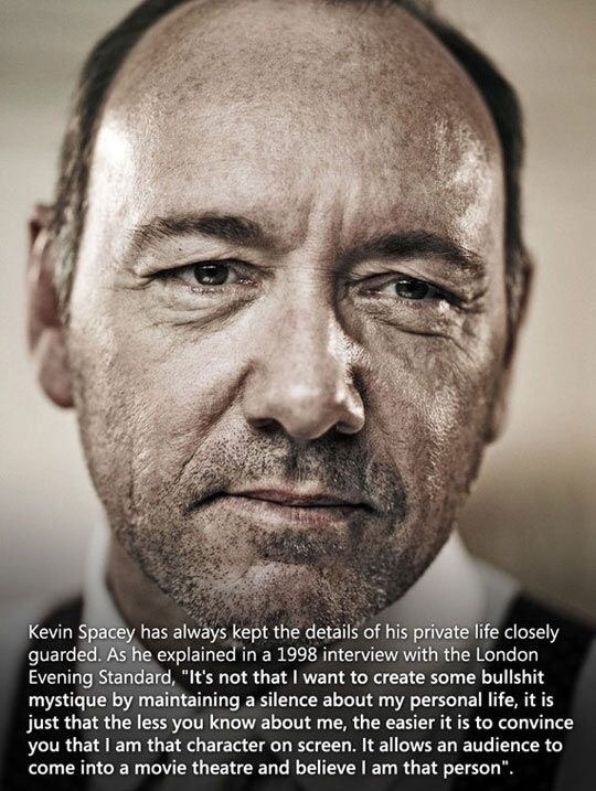 Kevin spacey = great actor. - meme