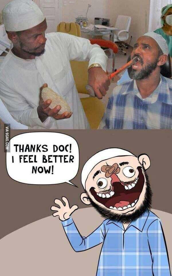 Le dentiste du bled - meme