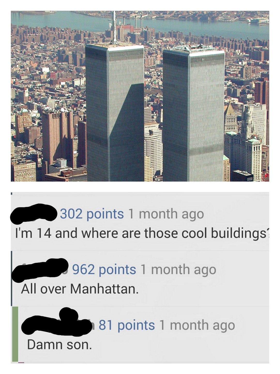 9/11 was inside job * grabs popcorn * - meme