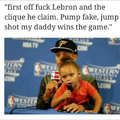 Stephen Curry and his daughter