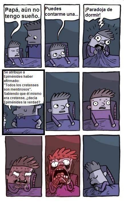 Paradoja de dormir 1 - meme