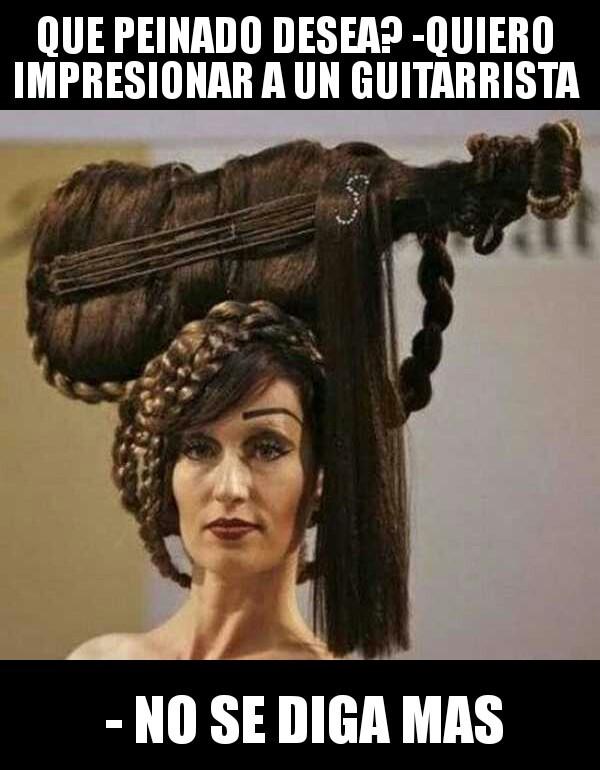 Peinado - meme