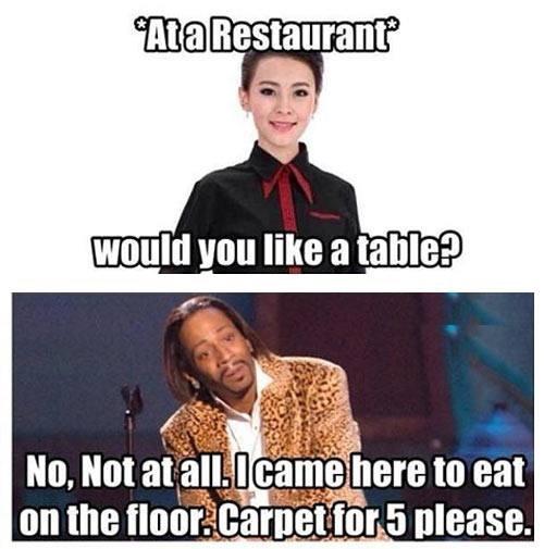 More like carpet for 6 - meme