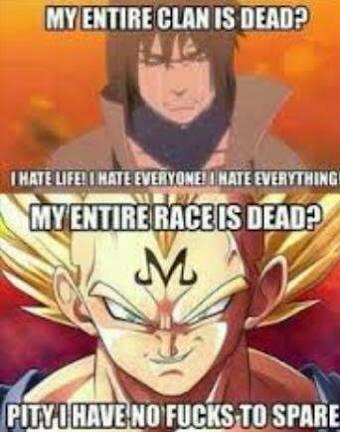 Vegeta's fuckin' badass - meme