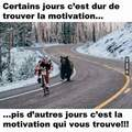 Tout est question de motivation