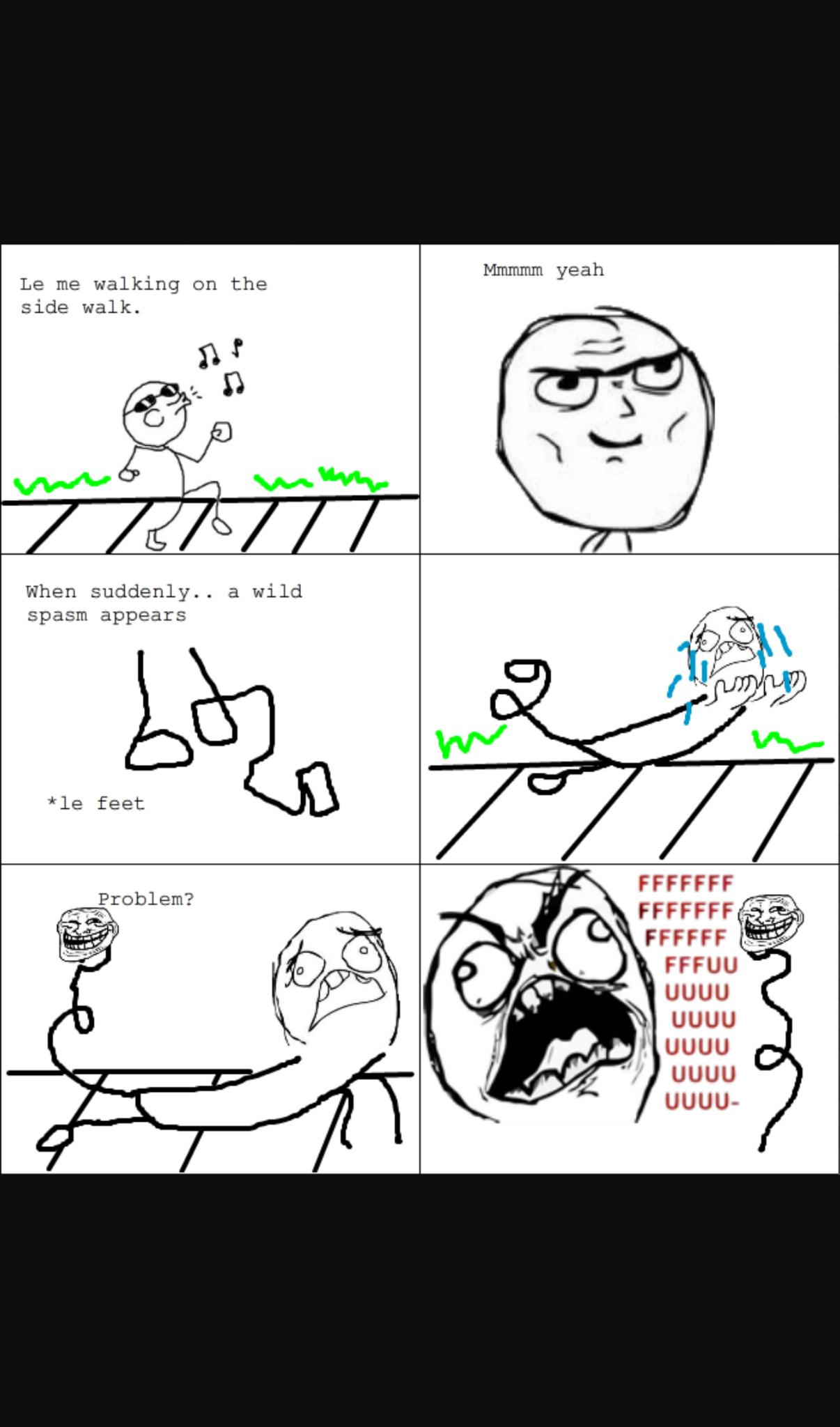 During gym class - meme