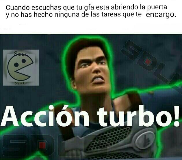 Acción turbo xdxdxd - meme