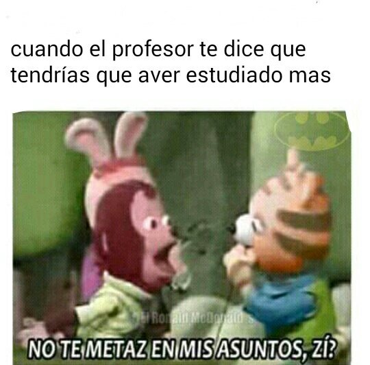 Putos profesores - meme