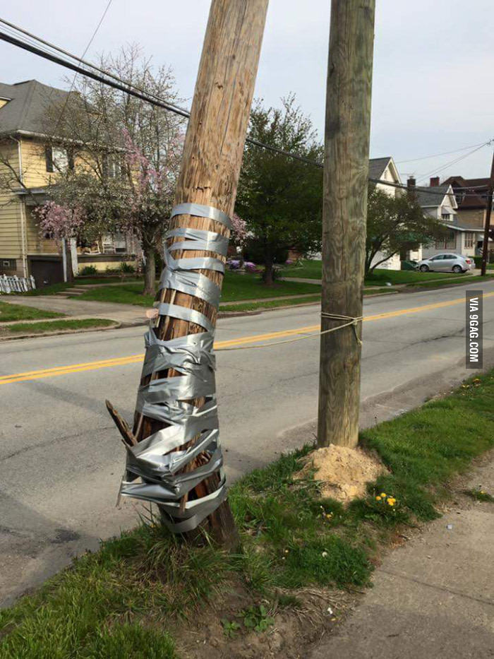 Duct tape can do everything - meme