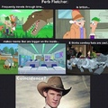 Ferb is a time lord