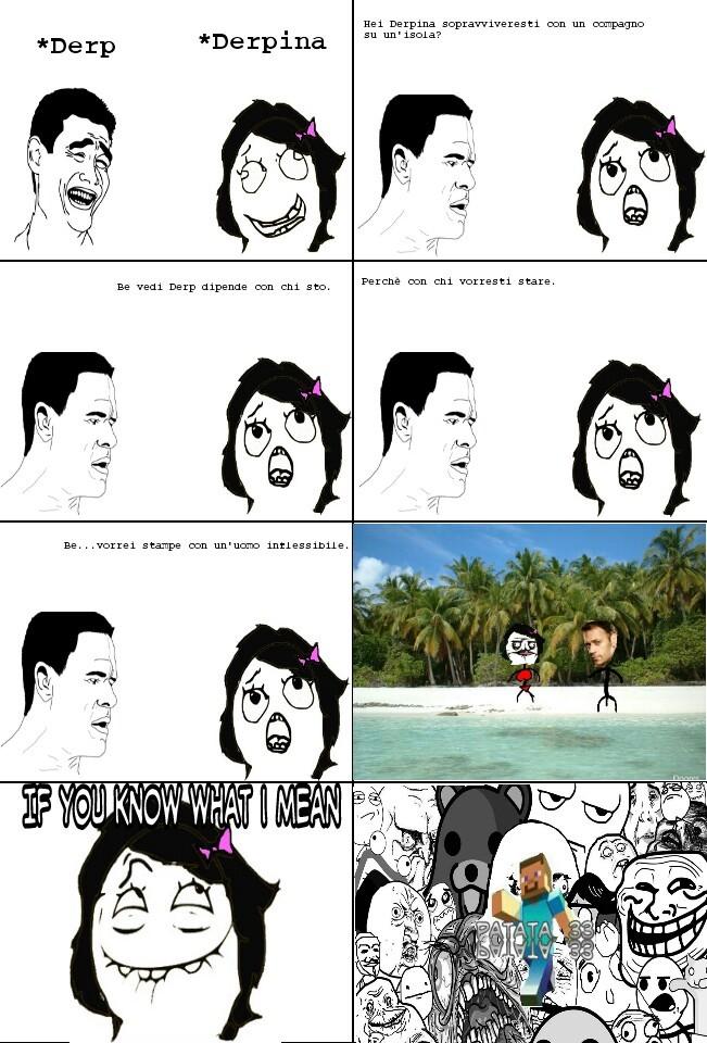 L'isola - meme
