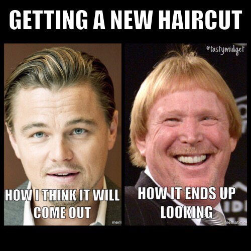 Bucky Larson haircut - meme