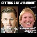 Bucky Larson haircut