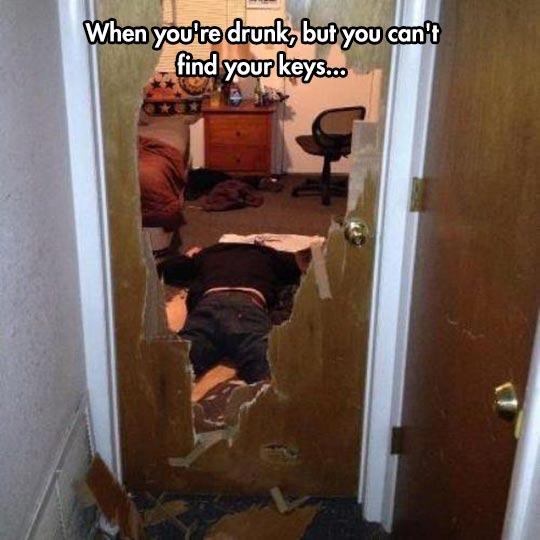When Your drunk - meme